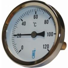Thermomètre bimétallique à cadran Ideal A45 - Diamètre 63 mm