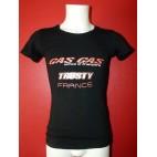 T-shirt homme Gasgas Trusty France noir