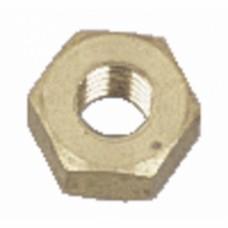 Écrous hexagonaux Hu laiton décolleté - Ø 3 mm