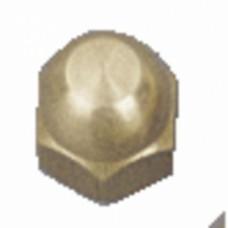 Écrous borgnes laiton - Diamètre 4 mm