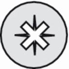 Vis métaux tête cylindrique pozidriv inox A2 - DIN 7985 Ø 3 - Longueur 10 mm