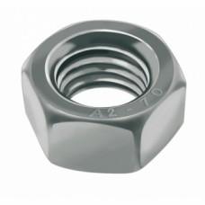 Écrous hexagonaux Hu inox A2 - Diamètre 3 mm