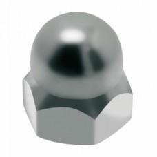 Écrous borgnes inox A2 - Diamètre 4 mm