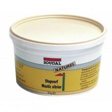Mastic vitrier à l'huile de lin - 1 kg
