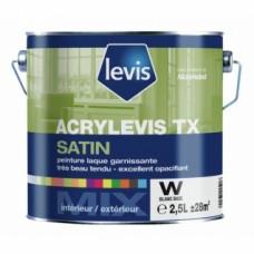 Peintures boiseries Acrylevis TX satin - 1 litre