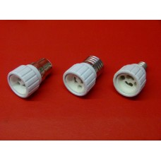 Douille adaptateur E14, E27, B22 en GU10