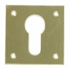 Entrée de clé laiton découpé pour cylindre à profil européen