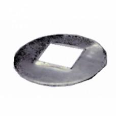Rondelles acier 6 mm carré