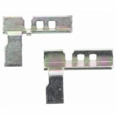 Adaptateur main gauche menuiserie aluminium pour poignées 2 doigts Néfer