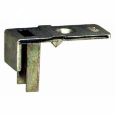Guide d extrémité pour sortie de tringle pour crémone à têtière 16 mm