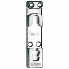 Gâche inférieure 9-35772 pour oscillo-battant PVC