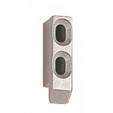 Gâche 2247 pour fermetures encastrées série 6790 pour coulissant aluminium