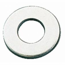 Rondelle acier décolleté zingué pour crapaudine fonte - Diamètre : 16 mm