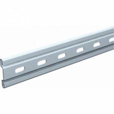 Rails profilés droits pour ferrures porte coulissante sur fer plat - série Bob - Longueur : 1000 mm