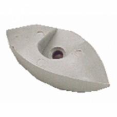 Demi-sabot en nylon pour porte coulissante