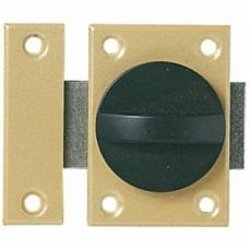 Verrou à bouton à ressort - Largeur 25 mm