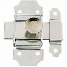 Targettes à pêne plat 1125 acier zingué - Largeur 30 mm