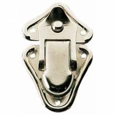 Fermoirs grenouille acier nickelé