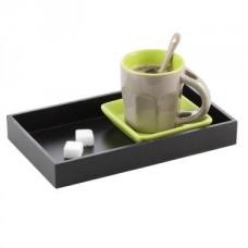 Service à café solo en céramique anis
