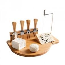 Plateau à fromage lyre et ustensiles