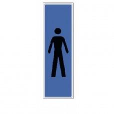 Plaquettes signalétiques -Idéogramme homme