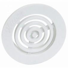 Grille d'aération B33 contre cloisons pour tube de 35mm
