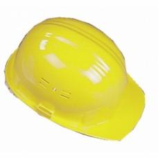 Casques de chantier polyéthylène - Jaune