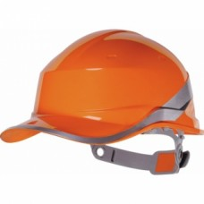 Casque de chantier fluo BASEBAL DIAMOND V - Blanc