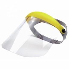 Protège-face incolore anti-buée antirayures sans casque