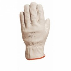 Gants manipulations courantes cuir gris FBN49 - Taille 8
