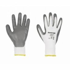Gants milieu humide huileux blanc POLYTRIL - Taille 7