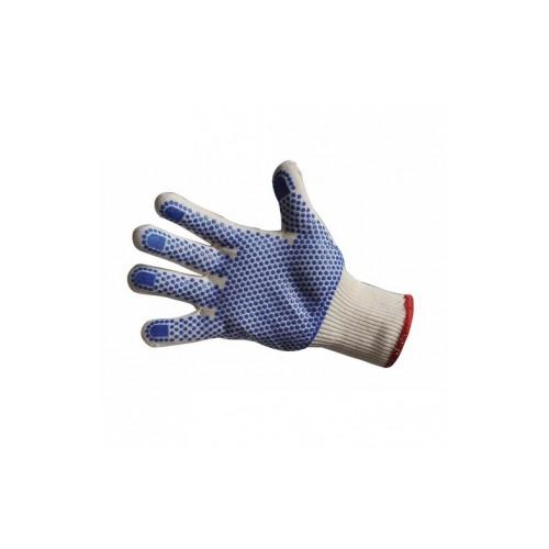 Gants textile tricoté écru Tiger Paw® - Taille 7