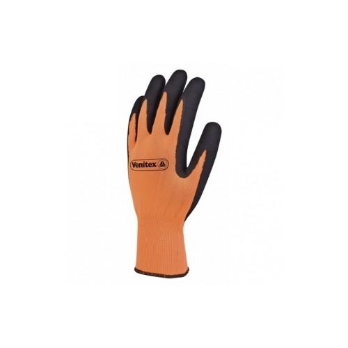 Gants manipulation fine Apollon Noir / orange  - Taille 8