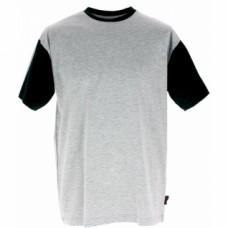 Tee-shirt Work Attitude gris et noir - Taille L