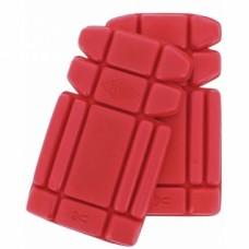 Genouillères polyéthylène coloris rouge Ergonomic pour pantalons Cargo 208 et 210