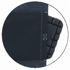 Genouillères coloris noir mousse Profile pour pantalons Work collection