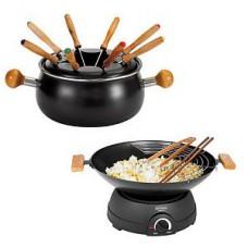 Set wok et fondu électrique