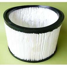 Filtre cartouche pour aspirateur à cuve