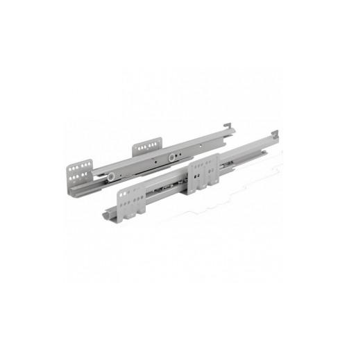 Coulisses actro avec silent system Charge : 40 kg Pour tiroir de profondeur : 270 mm HETTICH