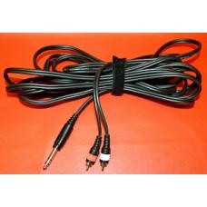 Câble Kenwood 2 RCA et jack stéréo
