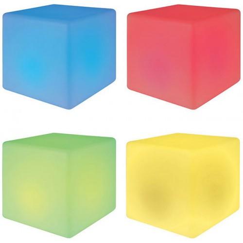 Cube LED à couleurs changeantes siège