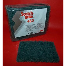 Scotch brite 95mmx158mm bleu par 6
