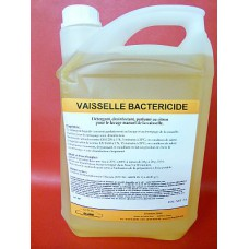 Détergent désinfectant parfumé citron lavage manuel vaisselle 5l