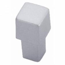 Boutons carrés métal 8090 - Aluminium