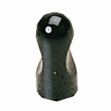 Boutons à encoche aluminium 8010 - Noir