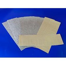 Papiers à poncer 10 feuilles