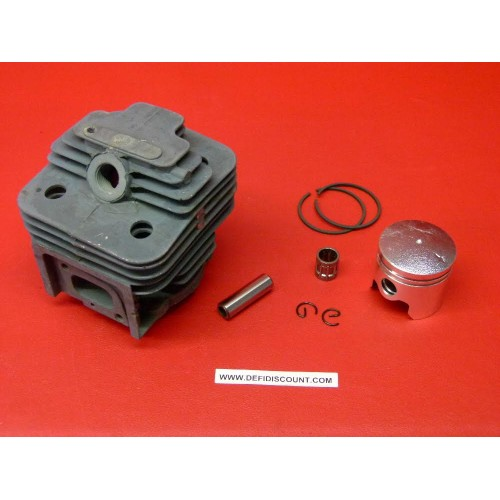 Kit cylindre piston cage à aiguilles segments axe clips 40mm