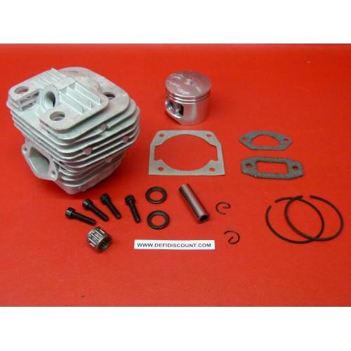 Kit Piston cylindre cage à aiguilles segments tronçonneuse 5800 chinoise
