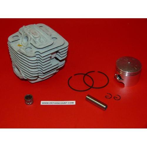 Kit cylindre piston segments cage à aiguilles clips 6200 tronçonneuse chinoise
