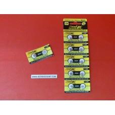 Piles bouton x2 montre AG4 1.5v SR66 alcaline SR626SW